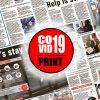Newsprint and COVID-19