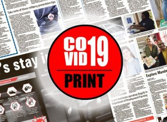 Newsprint and COVID-19