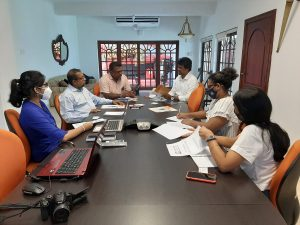 The Press Complaints Commission of Sri Lanka meet with Asia Pacific Alliance for Disaster Management (Sri Lanka)
