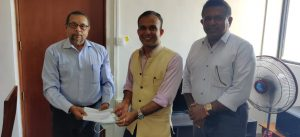 PCCSL meets with the First Secretary, Press and Information, Development Cooperation, High Commission of India
